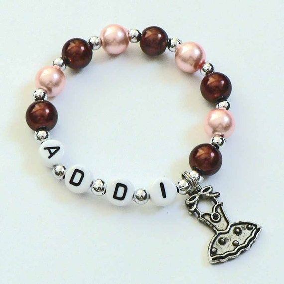 Personalized Little Girls Name Bracelet Children s Jewelry
