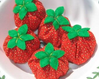 Five little Strawberries