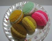 Crochet Food Pattern Macaroon Crochet Pattern PDF Instant Download Macaroons