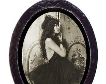 Art Deco 1920s Follies Ballerina Flapper Tutu Necklace Pendant