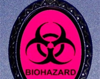 Biohazard Necklace Punk Rock Emo Pendant Hazard Hazardous Materials