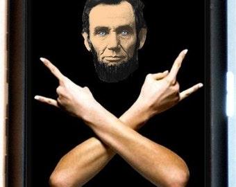 Abraham Lincoln Ultimate Rocker Cigarette Case Business Card Holder Wallet Abolitionist Civil War President