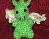Baby Dragon Amigurumi  - Crochet Pattern -PDF