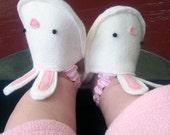 Sewing Pattern PDF - Bunnykins Baby Slippers