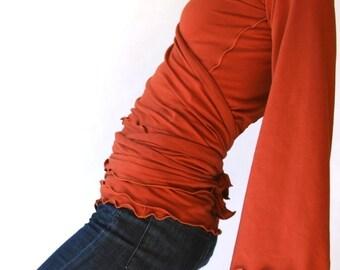 WRAP TOP hoody  wrap shirt  tops  womens shirt  shirts  best selling  trending items  treehouse28  hand made  custom  handmade  maternity