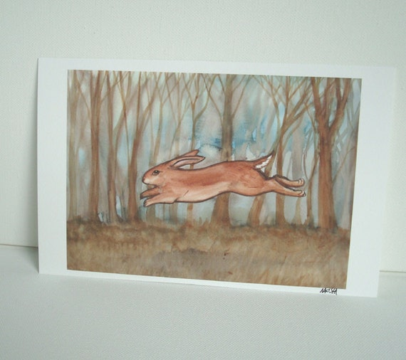 I Dream of the Same Things - Archival Fine Art Rabbit Print
