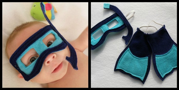 Deep Sea Baby - Infant Size Photo Prop/Costume (available in child size)