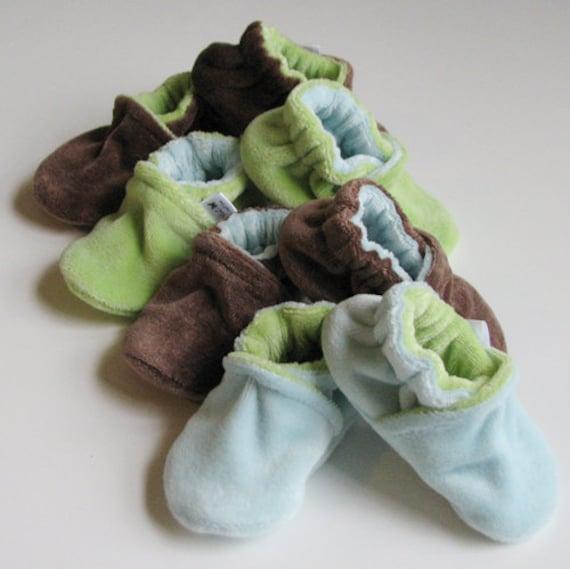 Custom Velour Slippers