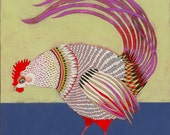 limited edition print - Rooster