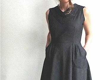 Chambray Dress, Sizes Small-Extra Large