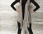 Basics Collection 'LONG'  Drape Vest / Top - Multiple Colors Available