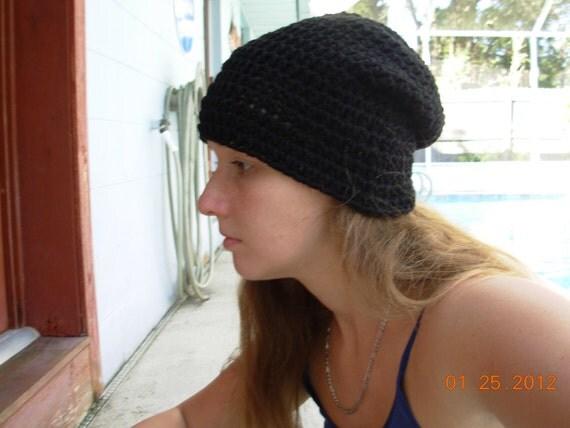 Slouchy Hat-Black