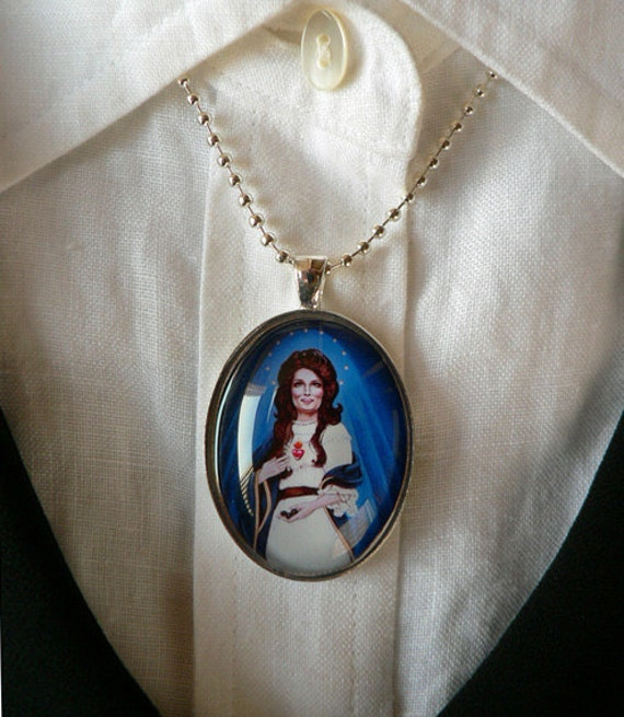 Our Lady of the Coal Pendant