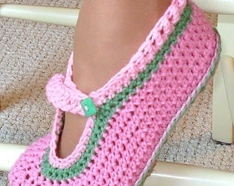 Instant Download - Crochet Pattern - Mary Janes for Adult and Kids PDF 11