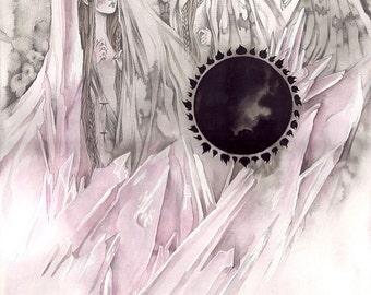Fates // Faerie / Mythology / Fantasy Art Print