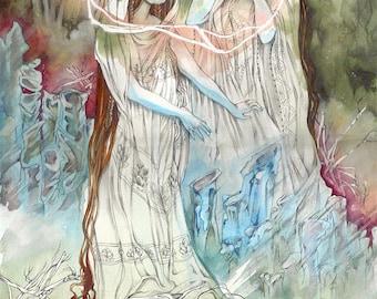 Lemuria // Faerie / Magical / Fantasy Art Print