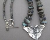 Lunar Flight Labradorite Necklace