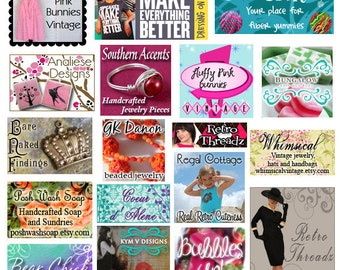 Custom Web Ad Design, Blog Button, Graphic Design, Online Advertisement