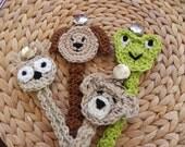 Crochet Pacifier..Paci Clip