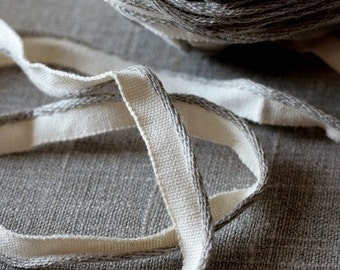 Linen/cotton piping cord/trim -- lip cord