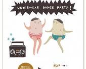 Notecard -- Underwear Dance Party