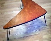Booma Mid coffee table  Eames Era  Mid Century Modern Atomic Design