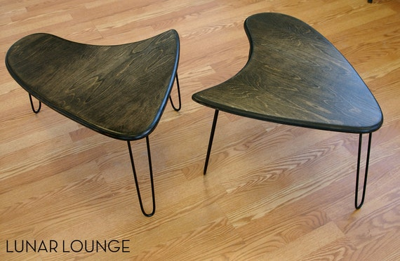 Booma End - Coffee table set  Mid Century Modern Design