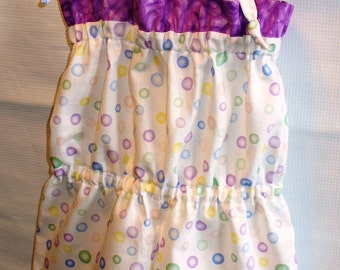 Infant Baby Girl Romper..3-6 months ..Bubbles print..Ready 2 ship