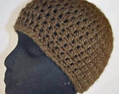 Brown Coffee Deuce Beanie