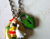 SALE - Little Maid Locket Necklace