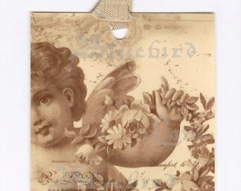 Gift Tags - Vintage Cherub -  by Bluebird Lane