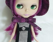 Bonnet for Blythe - Prairie, Funky, purple