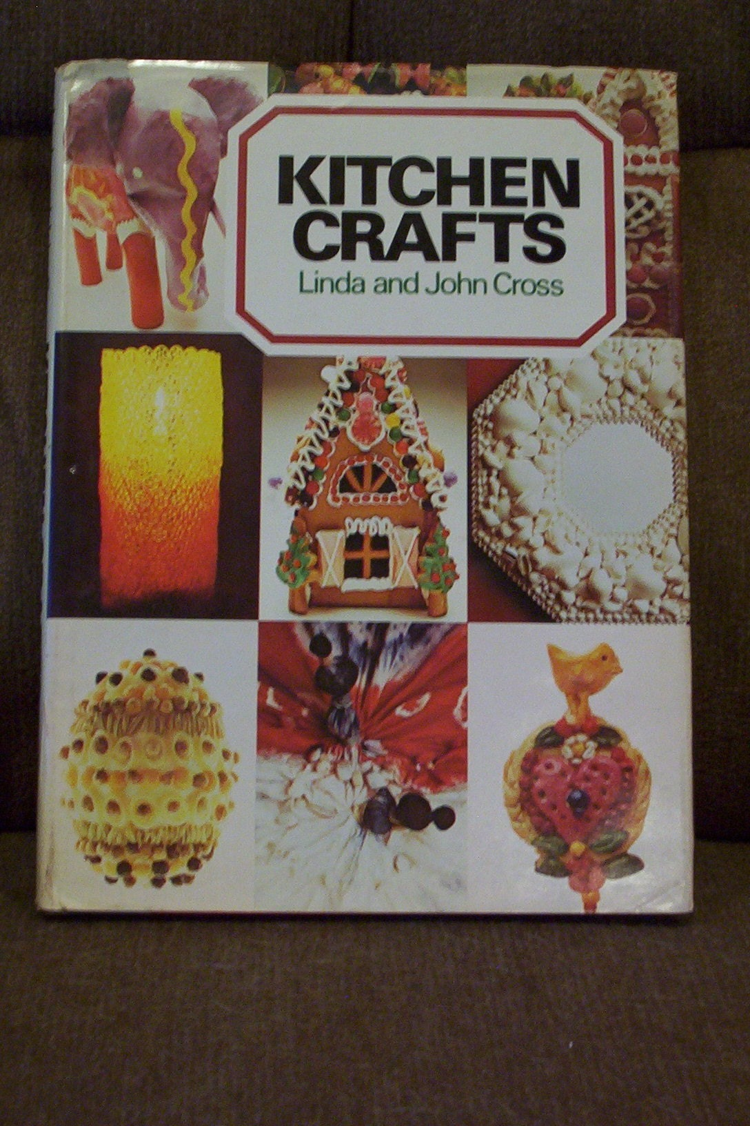 Vintage kitchen crafts craft book 1974 what you can make for Kitchen crafts to make