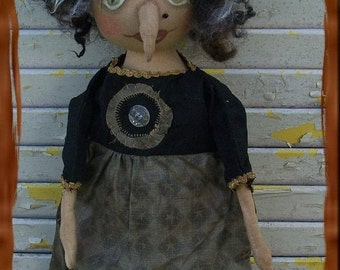 Primitive Helga The Horrible Witch With Wart