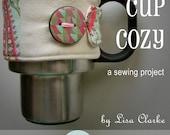 Custom-Fit Mug Cozy Sewing Pattern and Tutorial