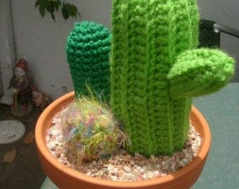 PATTERN Cactus garden crochet   PATTERN ONLY