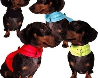 Eco Dog Harness - Renewable Solid Colored Cotton - Small