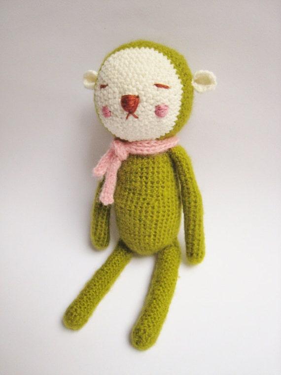 Hiro -- The sleepy bunny (Green)