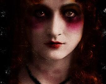 Annabel Lee gothic art print