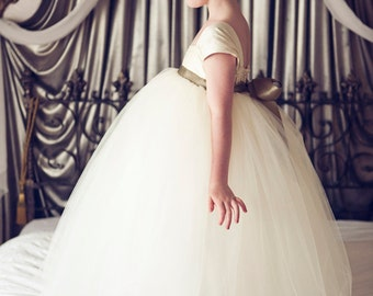 Flower Girl Dress Ivory