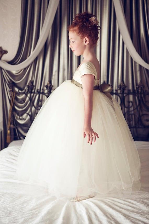 Flower Girl Dress Ivory