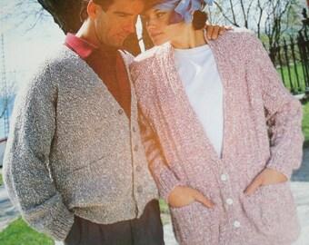Sweater Knitting Patterns Country Life Beehive Patons 475 Women Men Children Cardigan Vest Vintage Paper Original NOT a PDF