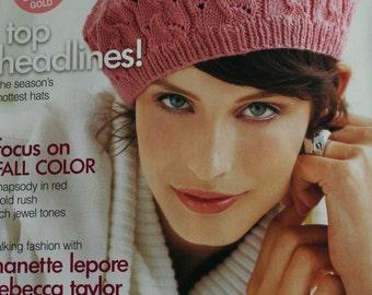 Knitting Patterns Vogue Knitting Magazine Fall 2009 Paper Original NOT a PDF
