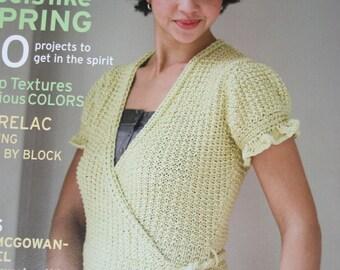 Knitting Patterns Interweave Knits Magazine Spring 2007 Paper Originals NOT a PDF