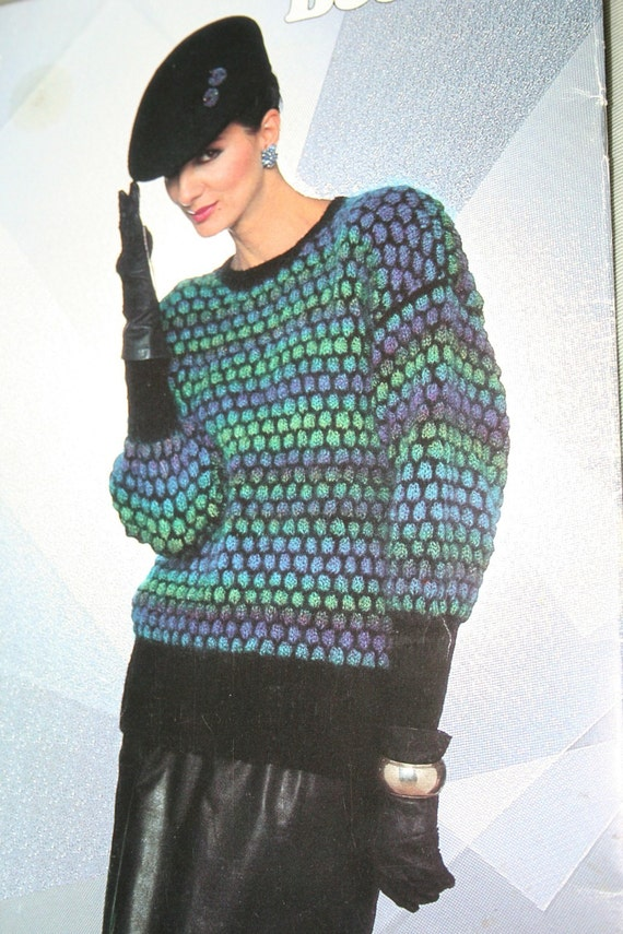 Amazing Knitting Patterns : Patons Sweater - Cashmere Sweater England