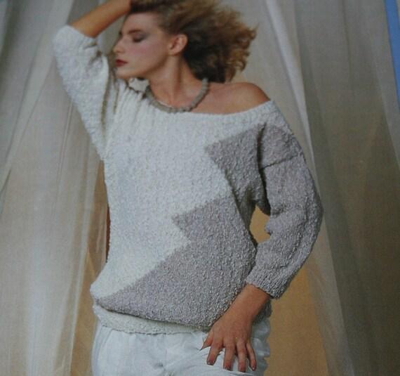 Zig Zag Sweater Knitting Pattern 5