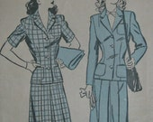 Advance 3230, 1940s suit