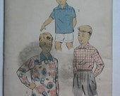 Advance 7104, 1950s boys' sport shirt