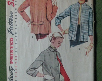 Simplicity 4176, early 1950s jackets