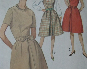 Simplicity 5095, 1960s juniors' dress